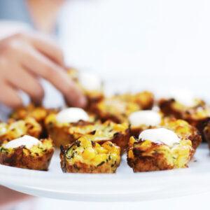 Sanitarium So Good corn, carrot and zucchini fritters recipe