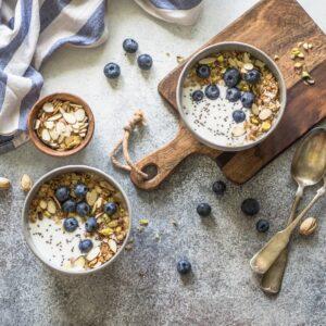 Creating a balanced breakfast